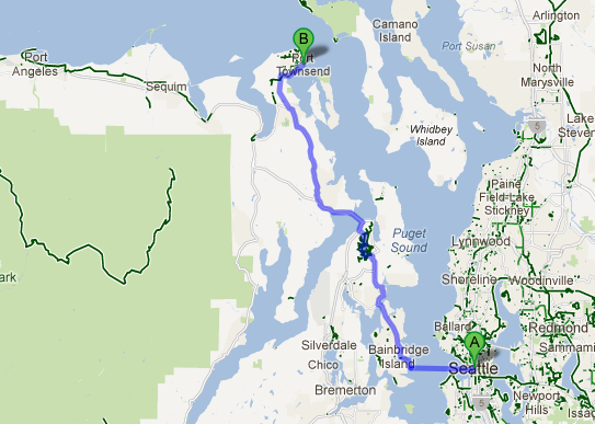 google maps biking directions with New Seattle Port Townsend Walkbike Ferry In The Works on Okeeheelee Park West Palm Beach likewise Revelstoke City Map besides Yosemite Cedar Lodge as well Acadia National Park Map besides Visitorcenters.