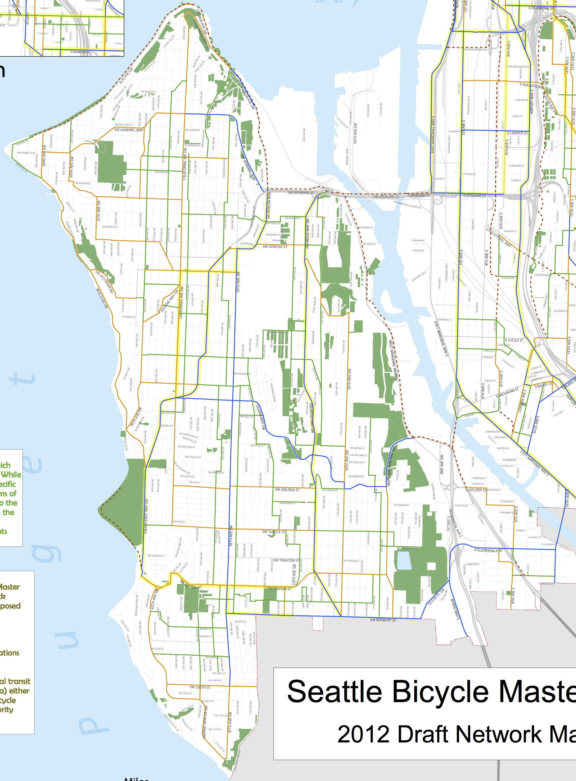Bike Master Plan West Seattle Sodo and South Park Seattle Bike Blog