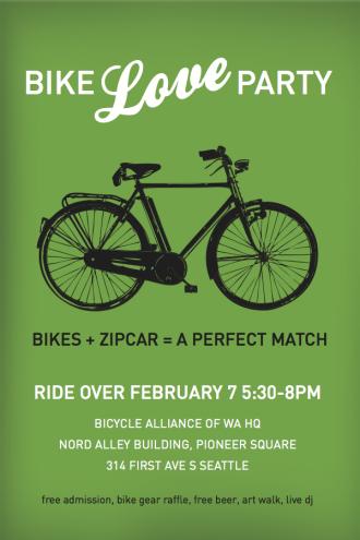 BikeLovePostcard
