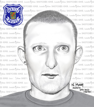 Police sketch of suspect in a Greenwood incident. Police are trying to determine if the same suspect is responsible for more attacks.